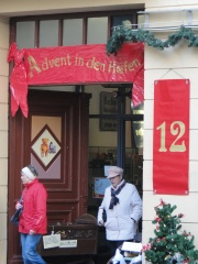 Advent in den Höfen - Quedlinburg